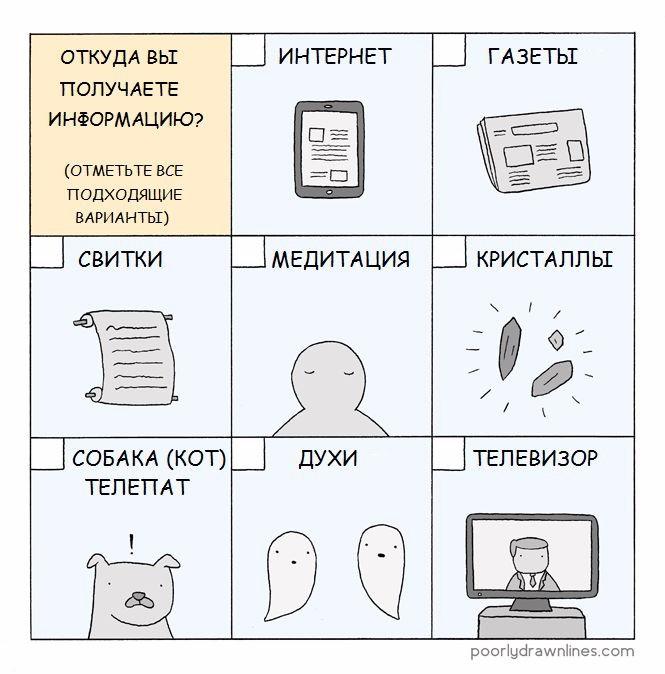 Получение информации