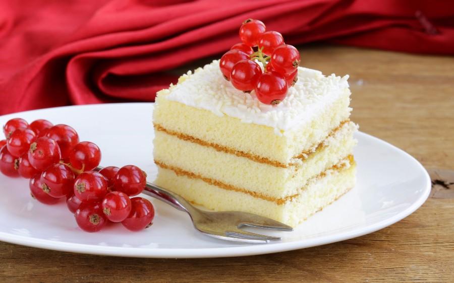 Тортик со смородиной
