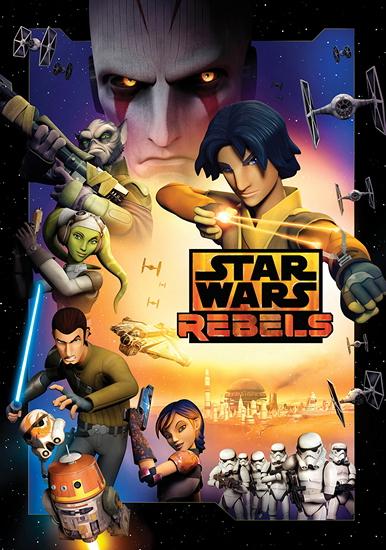 Звездные войны: Повстанцы / Star Wars: Rebels / Сезон: 2 / Серии: 1-22 из 22 (Стюарт Ли, Дэйв Филони. [2015-2016, США, Фантастика, мультсериал, приключения, BDRip 720p] Dub (Невафильм) + Eng