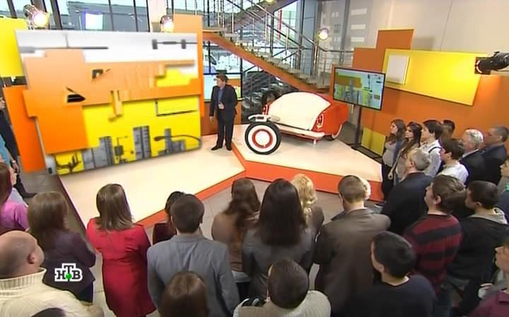 Первая передача на НТВ. Автомобильная передача (24.01.2016) SATRip