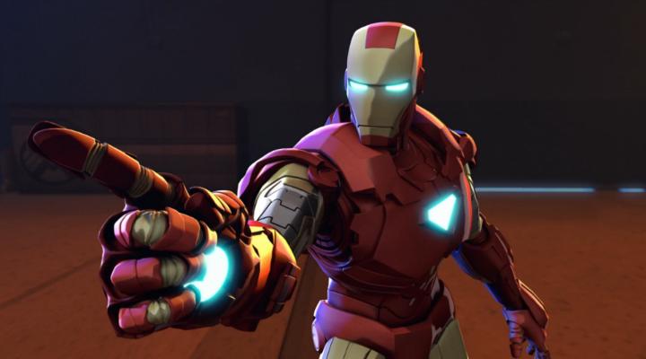 Железный человек и Капитан Америка: Союз героев | WEB-DLRip | L