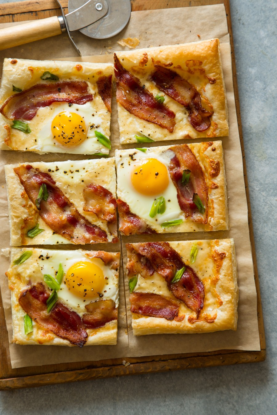 Пицца на завтрак