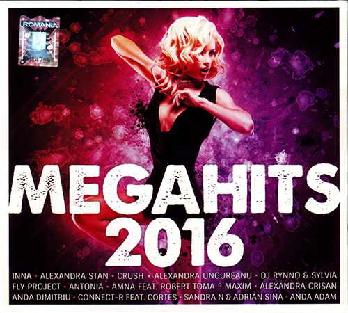 (Dance) [CD] VA - Megahits 2016 (2CD) - 2015, FLAC (image+.cue), lossless