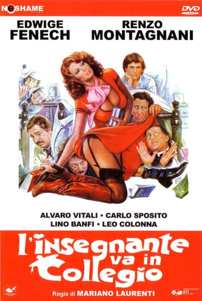 Учительница в колледже / Linsegnante va in collegio (Мариано Лауренти / Mariano Laurenti) [1978, Италия, Франция, комедия, DVDRip-AVC] VO (Andi999) + Sub Rus + Original Ita