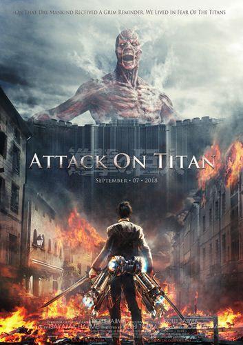 Атака титанов. Фильм первый: Жестокий мир/Shingeki no kyojin: Attack on Titan JAP Transfer