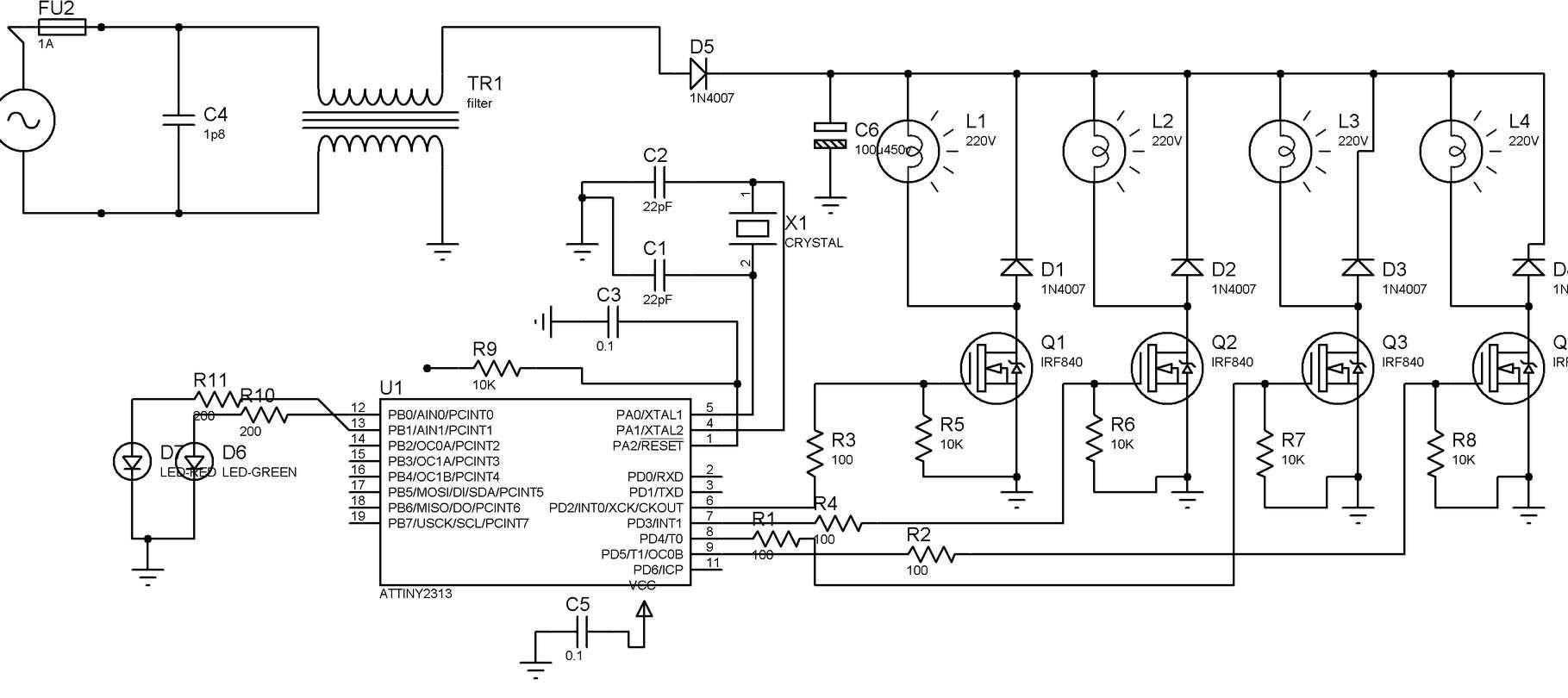 Полимаг схема электрическая