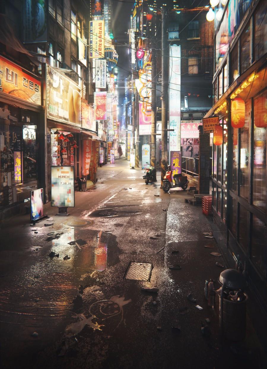 Улочки Сеула