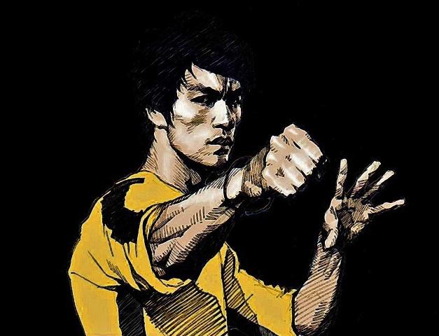 Mini Bruce Lee!