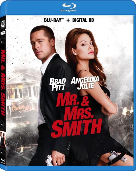 Мистер и миссис Смит / Mr. & Mrs. Smith (2005) Blu-Ray Remux 1080p