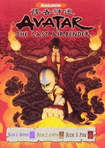 Аватар: Легенда об Аанге / Avatar: The Last Airbender / Книги: 1-3 / Серии: 1-61 из 61 (Майкл Данте ДиМартино / Michael Dante DiMartino) [2005-2008, США, приключения, BDRemux] Dub (Арт-Дубляж) + Sub Eng + Original Eng