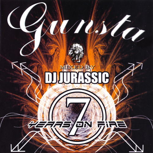 (Drum and Bass) [CD] VA - 7 Years on fire - Mixed by Dj Jurassic - 2007, FLAC (image+.cue), lossless