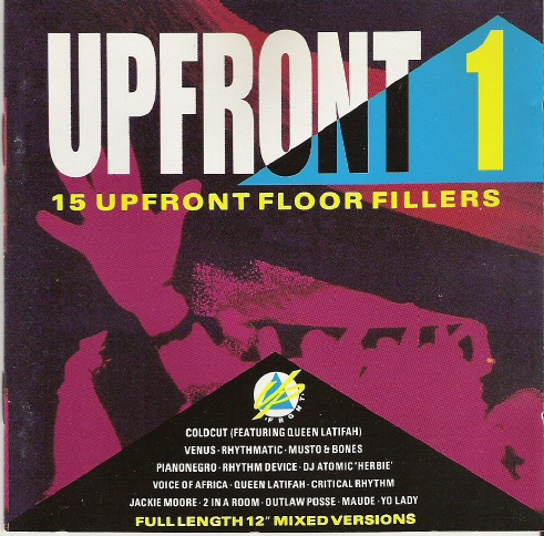 (Acid House, Breaks, Techno) [CD] VA - Upfront 1 - 15 Upfront Floor Fillers - 1990, FLAC (tracks+.cue), lossless