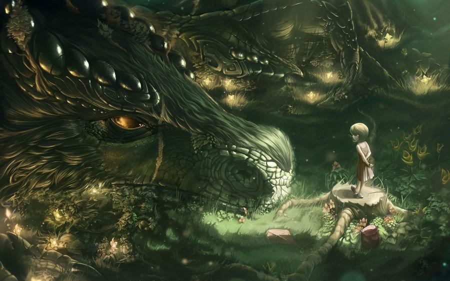 Морда дракона