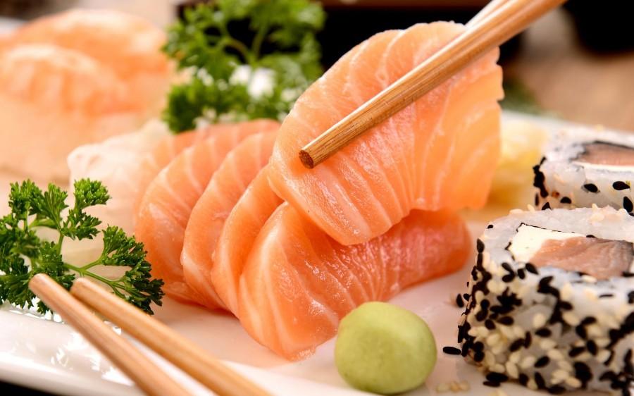 Ужин в японском стиле