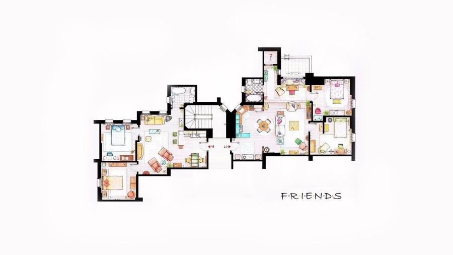 Квартирка друзей