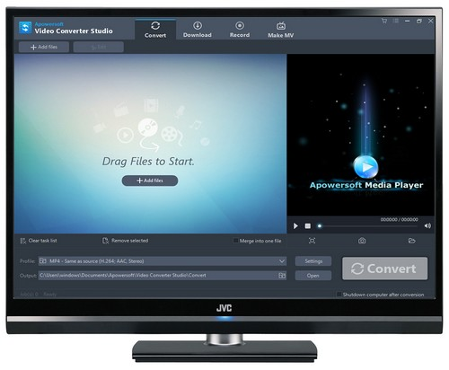 Apowersoft Video Converter Studio 4.5.1 (x86-x64) (2016) Multi/Rus