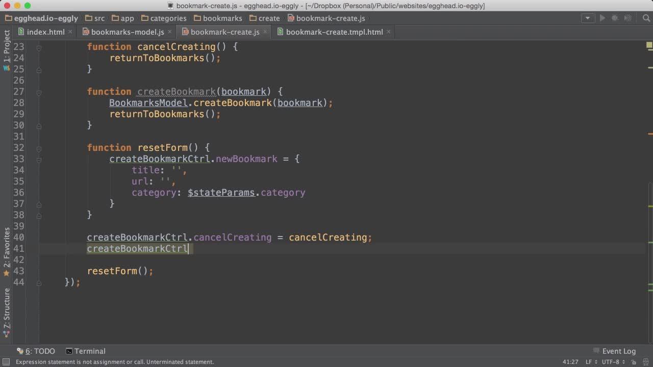 Egghead io angularjs application architecture 2016 eng for Angularjs 2 architecture