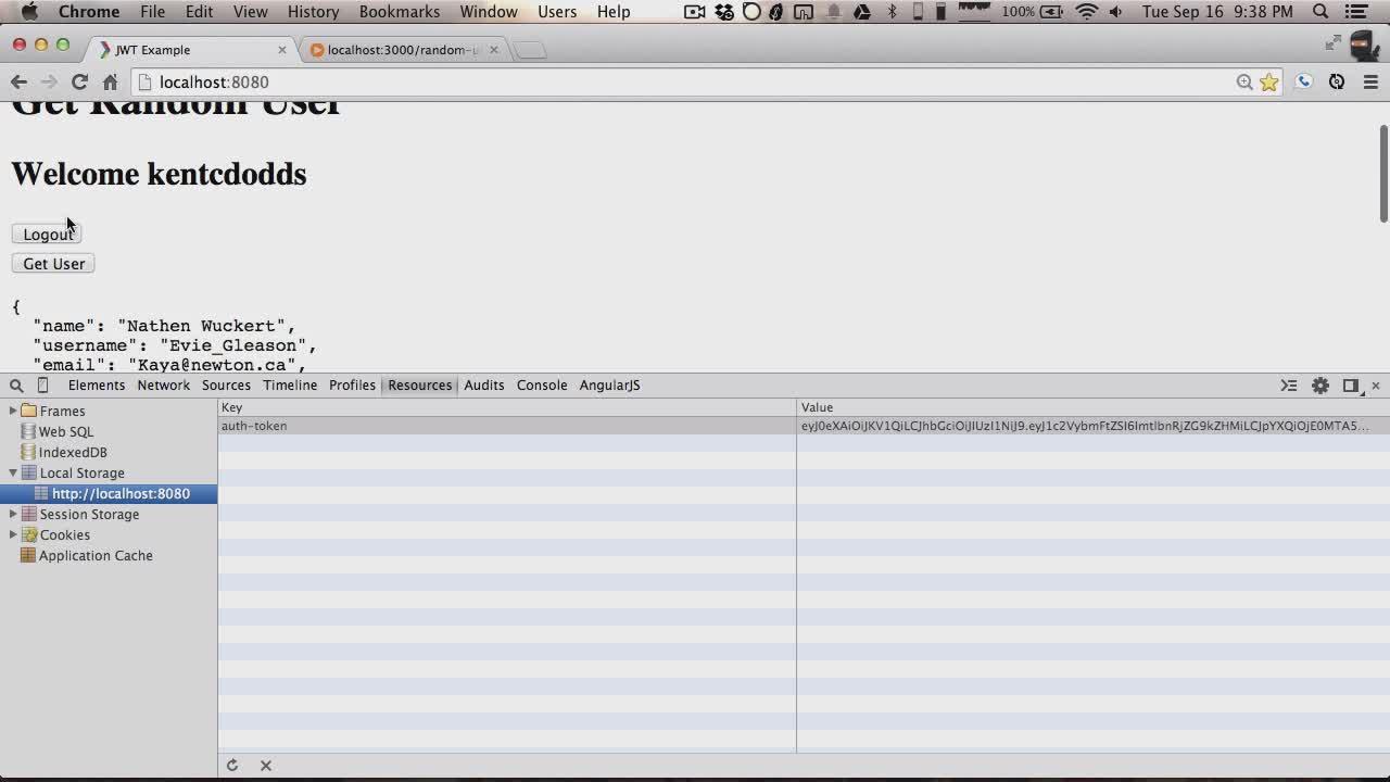 Angularjs token authentication php / Supernet santander ...