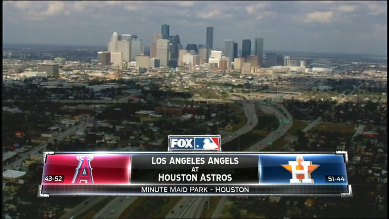 MLB 2016 / AL / RS / 22.07.2016 / Los Angeles Angels @ Houston Astros (1 / 3) [Бейсбол, MLBTV-HD / 720p / 60fps, MKV / H.264, EN / FS West]
