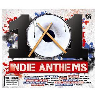 101 Indie Anthems [5CD] (2012)