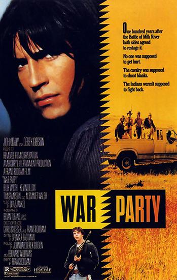 На тропе войны / War Party (1988) TS | D | Советская прокатная копия