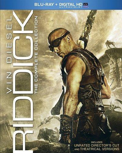 The Riddick Collection BluRay 1080p X265 AC3-D3FiL3R