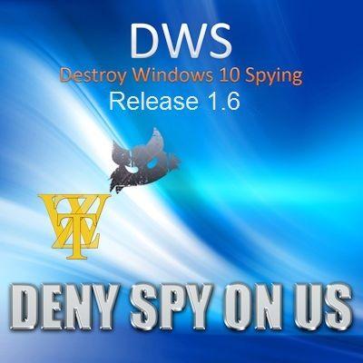 Destroy Windows 10 Spying 1.6 Build 722 (x86-x64) (2016) Multi/Rus