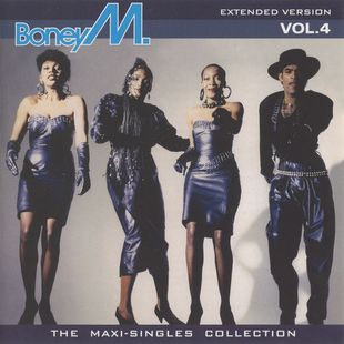 Boney M - The Maxi-Singles Collection - Extended Versions Volume 1, 2, 3, 4 (2005-2006)