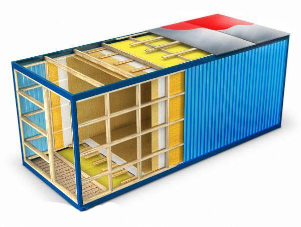 Блок контейнер перечень материалов 179
