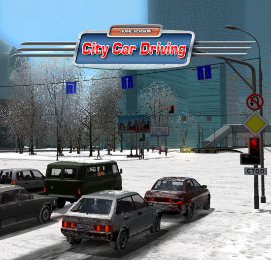 City Car Driving [v 1.5.9.1 build 27346] (2016) PC | RePack от xatab