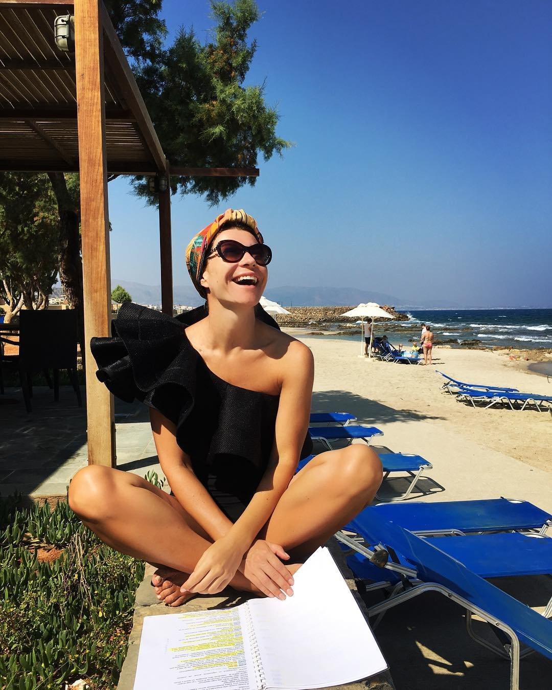 Екатерина волкова на пляже фото