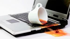 ремонт залитого ноутбука фото