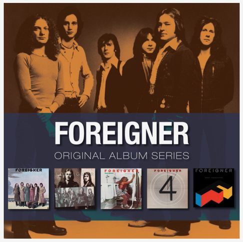 (AOR) [CD] Foreigner - Original Album Series (5CDs Box) - 2010, FLAC (image+.cue), lossless
