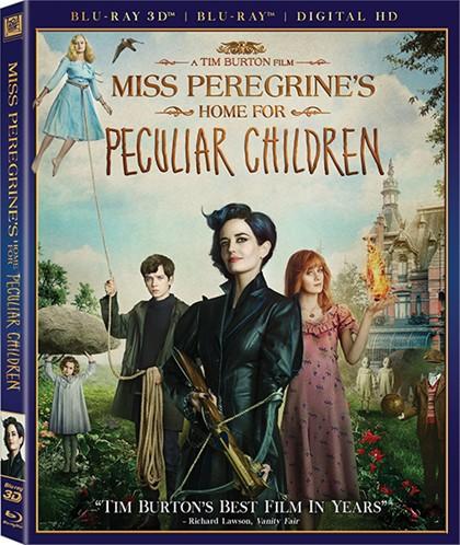 Дом странных детей Мисс Перегрин / Miss Peregrine's Home for Peculiar Children (2016) Blu-ray 3D [H.264/1080p] [ISO]
