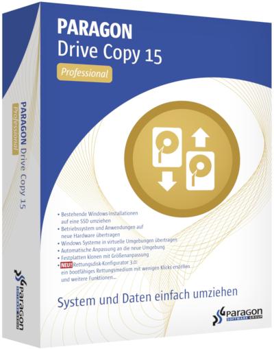 Paragon Drive Copy 15 Professional 10.1.25.779 + Boot Medias (x86-x64) (2016) Eng