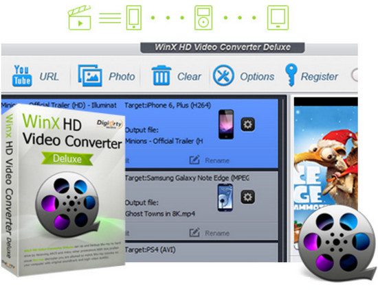 WinX HD Video Converter Deluxe 5.9.8 (x86-x64) (2017) Multi/Rus
