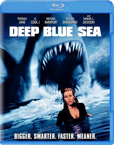 Глубокое синее море / Deep Blue Sea (1999) BDRip 720p | D, P, A