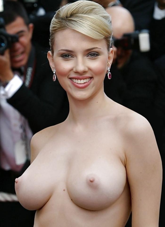 Scarlet Johanson Topless Pics