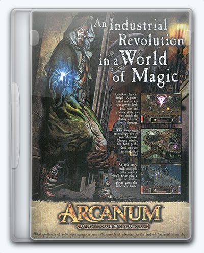 Arcanum: Of Steamworks and Magick Obscura (2001) [Ru/En] (1.3.0.x) Repack/Mod Multiverse Team [Arcanum Multiverse Edition]