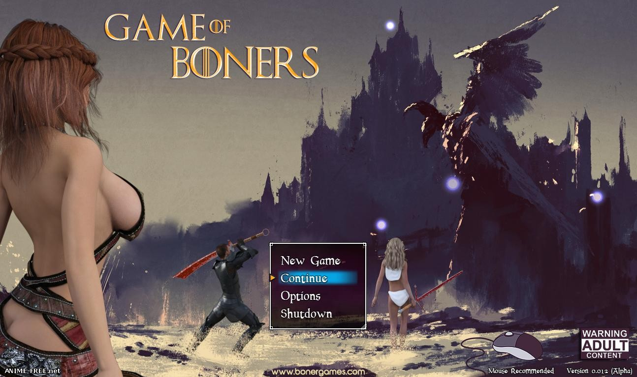 Game of Boners [2016] [Uncen] [RPG, 3DCG] [ENG] H-Game