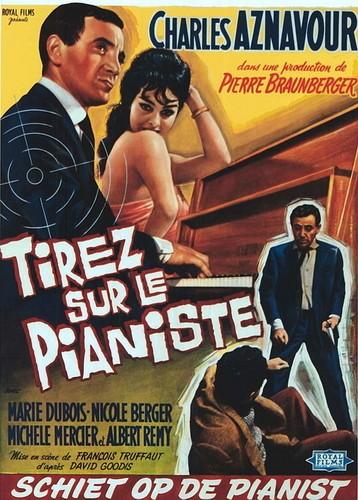 Стреляйте в пианиста / Tirez sur le pianiste / Shoot the Piano Player / Shoot the Pianist (Франсуа Трюффо / Fran&#231ois Truffaut) [1960, Франция, драма, криминал, BDRip] MVO (Кармен Видео) + MVO (SomeWax) + Sub Rus, Eng + Original Fre торрент скачать бес