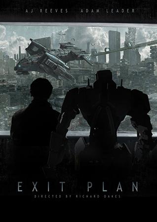 План побега / Exit Plan (Ричард Оукс / Richard Oakes) [2016, США, короткометражка, фантастика, WEB-DLRip-AVC] DVO (DeeAFilm Studio) + Original (Eng)