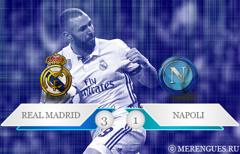 Real Madrid C.F. - S.S.C. Napoli 3:1