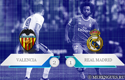 Valencia C.F. - Real Madrid C.F. 2:1