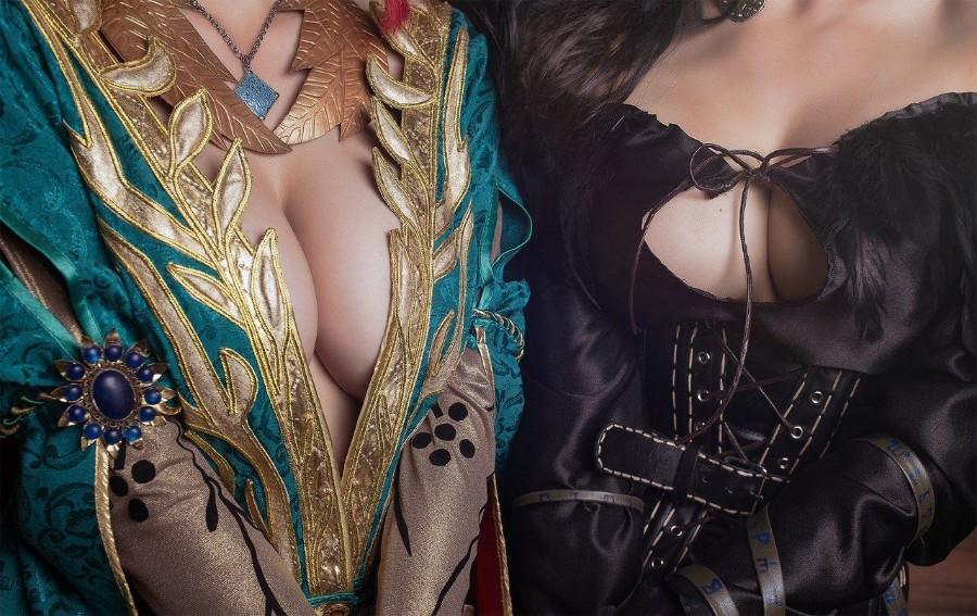 Трисс и Йениффер