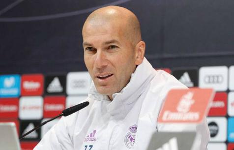 """Зидан: """"Для меня не существует слова """"кризис"""" в отношении """"Мадрида"""""""
