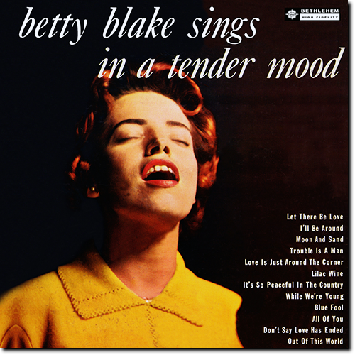 [TR24][OF] Betty Blake - Betty Blake Sings In A Tender Mood (Remastered) - 1961/2014 (Vocal Jazz)