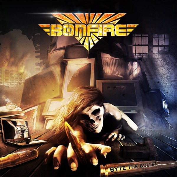 Bonfire - Byte the Bullet (2017) FLAC