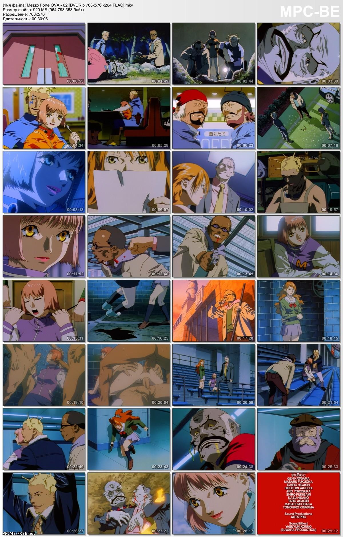 Красотки-головорезы / Mezzo Forte [Ep.1-2+Special] [RUS,ENG,JAP,Multi5] Anime Hentai