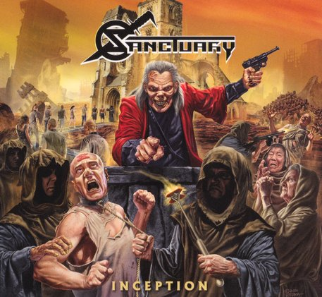 Sanctuary - Inception (2017) [FLAC|Lossless|image + .cue] <Heavy Metal, Power Metal>